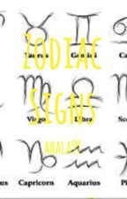 Zodiac Signs by ahala99