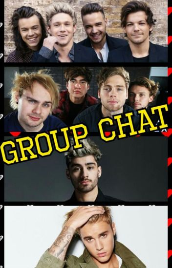 1D & 5SOS group chat ft Justin Bieber