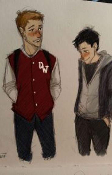 Destiel (Highschool AU) I Like You...a Lot