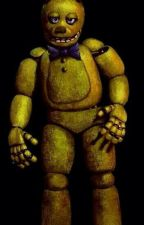pre-withered! springtrap x Reader (fluff) by plutosplanets