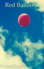 Red Balloons by BucketOfNutella