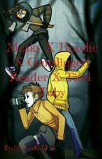 Masky X Hoodie X Gunslinger! Reader X Ticci-Toby by Michaelis14_2