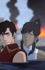 Korra and Iroh by Aykillertaco22