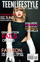 TeenLifeStyle Magazine Vol.1 Iss.2 (May 2015)Part One: Taylor Invasion by TeenLifeStyleMag