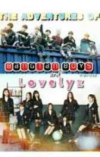 The Adventures of Bangtan Boys and Lovelyz by wonchaes