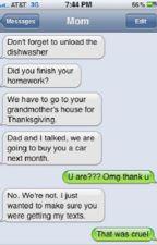 Funny text  by savannah6641