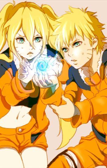 Naruto's sister, Sasuke's crush