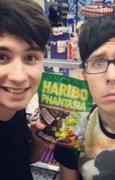 Adopted by Dan and Phil (danisnotonfire & AmazingPhil)