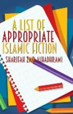 A List of Appropriate Islamic Fiction by striving_muslimah