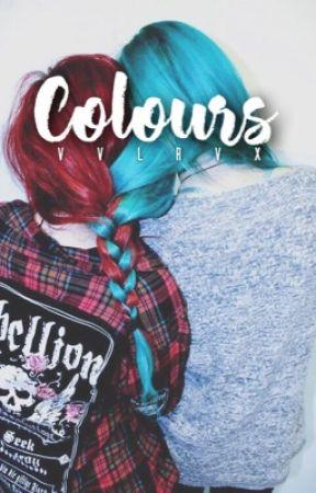 Colours • h a l s e y by vvlrvx