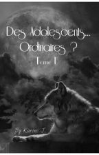 Des adolescents...ordinaires? Tome 1 by karourounne