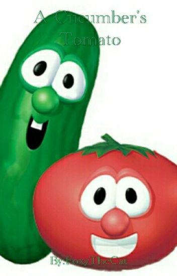 A Cucumber's Tomato (Veggie Tales Larry x Bob) - it's just ... Veggie Tales Larry The Cucumber And Bob The Tomato
