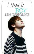 """I Need U Boy-Taehyung """"V""""(BTS) by NessieHannon"""