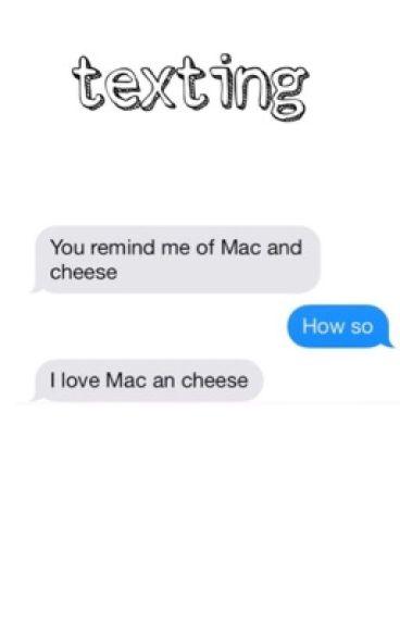 texting - michael clifford