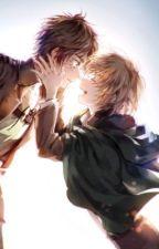 Eren x Armin by JennahJAGz