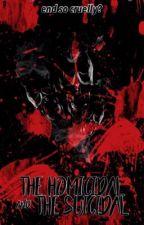 The Homicidal & The Suicidal  •Lashton• by Teresa_Salgado