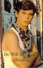 He will stay golden (Ponyboy Curtis love story) by EmilySings