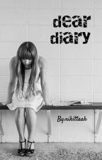 dear diary by nikittaah
