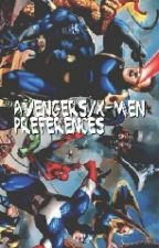 Avengers /X-Men  Preferences (Under Editing ) by emo_demon18