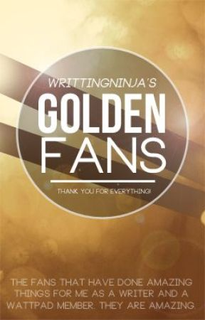 Golden Fans by WrittingNinja