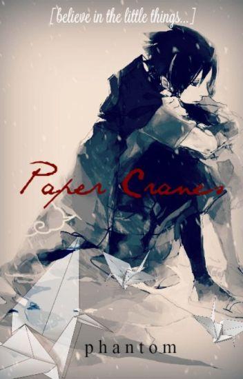 paper cranes [Awkward!Nerd!Sasuke x Reader]