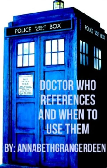 Doctor Who References And When To Use Them