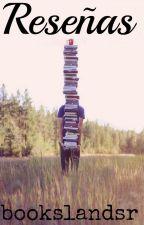 Reseñas by bookslandsr