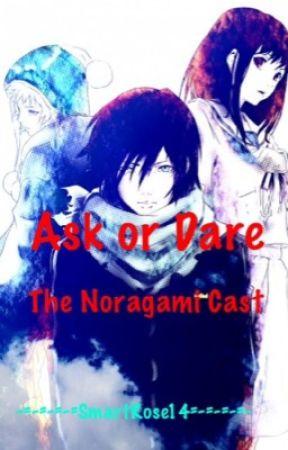 Askdare The Noragami Cast Kiss Hiyori Wattpad