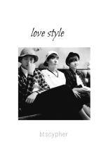 Love style «BTS rap line» by btscypher