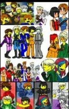 Todos somos equipo todos esta remos juntos (Ninjago) by Charlimar