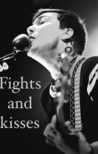 Fights and kisses- Frank Iero X reader (LONG) by apunktrashcan