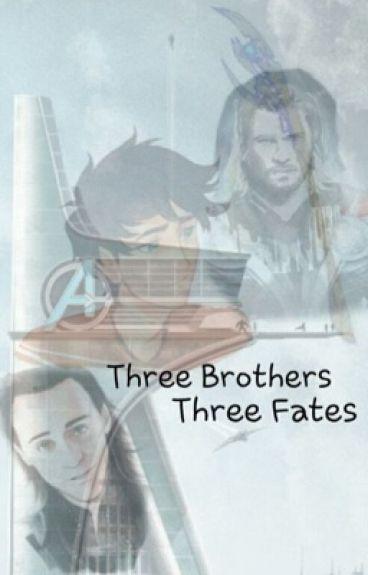 Three brothers three fates (avengers/percy Jackson)