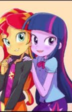 Sunset Shimmer X Twilight Sparkle by _TheManon_