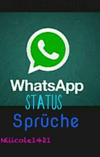 Whatsapp Status Sprüche Niiicole1421 Wattpad