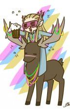 Party Hard czyli melanż z elfami 2  Impreza Tysiąclecia by CzekoladaRx