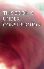 THIS BOOK IS UNDER CONSTRUCTION by CCCapz