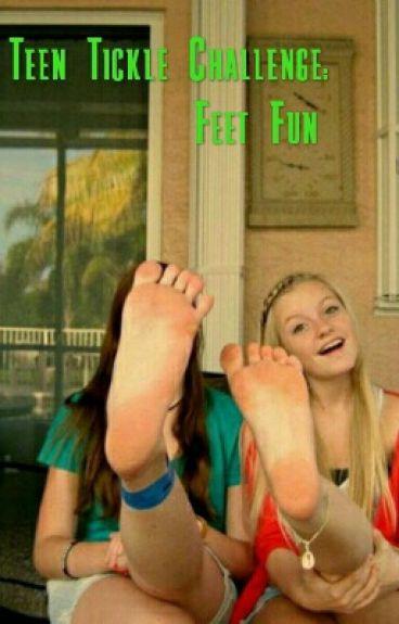 Teen girl tickling stories