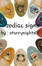 Zodiac signs by starrynights01