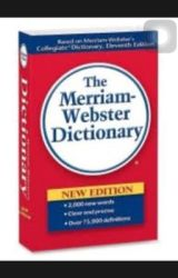Webster school dictionary of popularly by kes123344