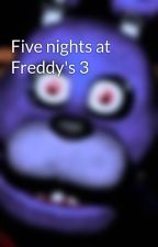 Five nights at Freddy's 3 by theleagendFoxy33