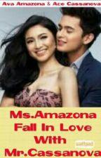 Ms.Amazona fall in love with Mr.Cassanova by MherylPantaleon