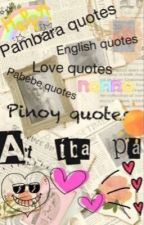 Pinoy quotes by SophiaKristle4510