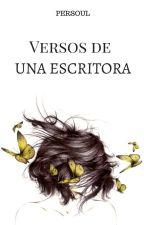 Versos de una escritora. by Persoul