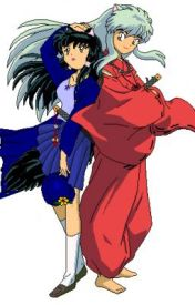 Inuyasha and Kagome by promquxxn