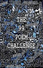 The 99 Poem Challenge by cristinaaragon