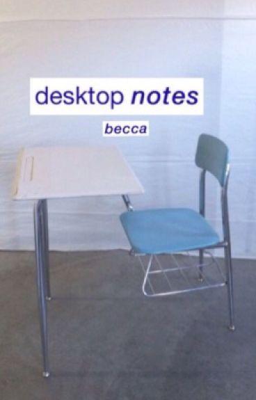 Desktop Notes    Malum