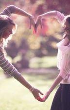 2 Girls in One Shadow by karachi236