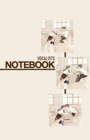 Notebook ∣ Park Jimin by vocalists