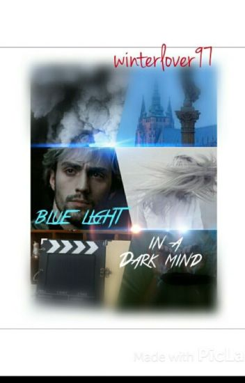 blue light in a dark mind