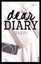 Dear Diary || dipper x reader (short story) by dxpper